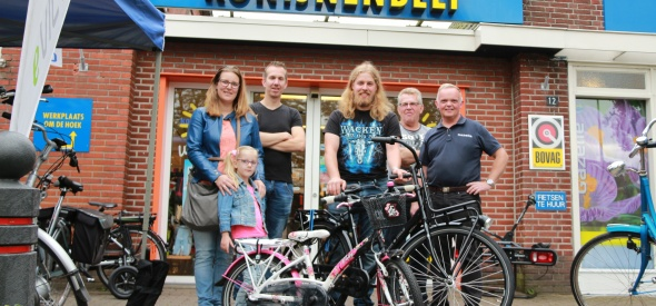 Prijswinnaars fiets Konijnenbelt fietsplezier