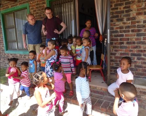 Zuid-Afrika schoolkinderen