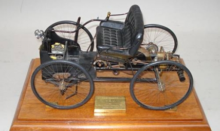 A model of Henry Ford's Quadricycle