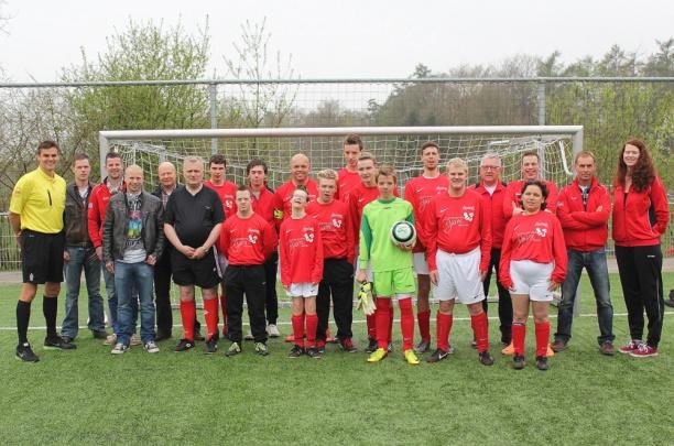 G-voetballers trapten zaterdag het nieuwe seizoen af in Dalfsen