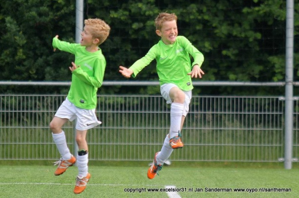 Indeling trainingen mini's in De Reggehal