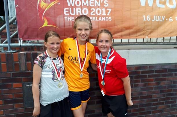 Excelsior'31 Meiden tweede van Overijssel bij WEURO 2017 3x3 toernooi