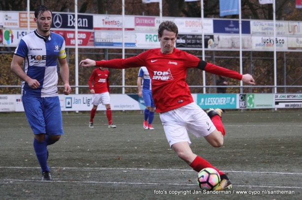 Excelsior'31 ruim langs ON Almelo in Districtsbeker (1-5)