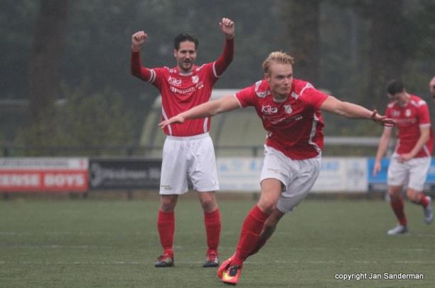 Talentvolle aanvallers Menno Kamphuis en Jasper Groothuis naar Excelsior'31