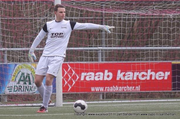 Jong Excelsior'31 na strafschoppen langs DOS'37 in Tukker Cup