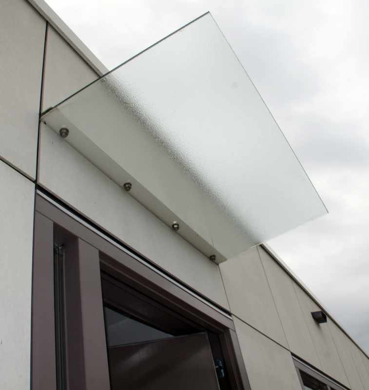 Htb constructie product luifels zonwering luifel glas luifel met glas lamel - Luifel glas ...