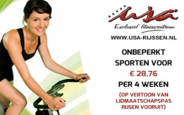 USA - Exclusief fitnesscentrum in Rijssen