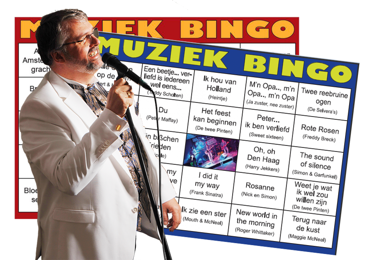 Foto bij Foute Muziek Bingo!