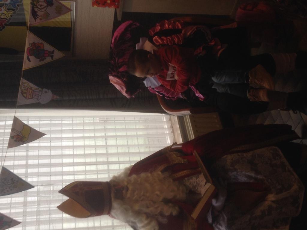 Foto uit album Foto uit album: Sinterklaas op bezoek Puppy's<br />