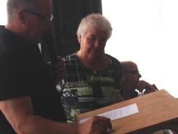 Foto van album Jubilarissen & afscheid Wedstrijdsecretaris , Lid van Verdienste