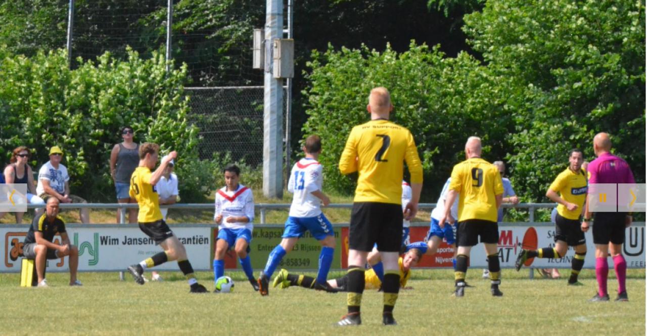 Foto bij Rijssen Vooruit behaalt nacompetitie na winst op Sportclub Rijssen