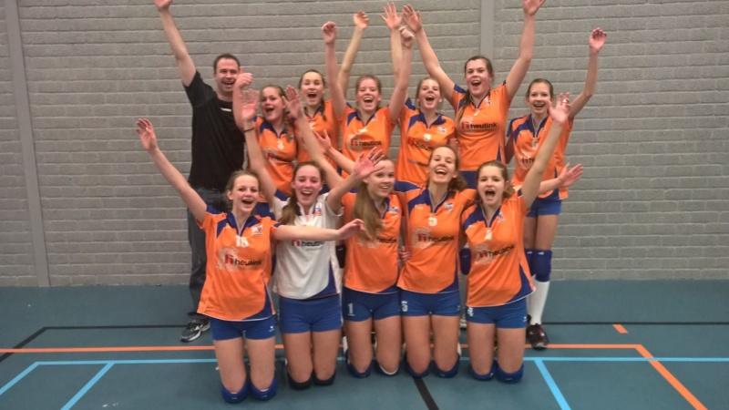 Rivo Meisjes B en C na de finale NOJK