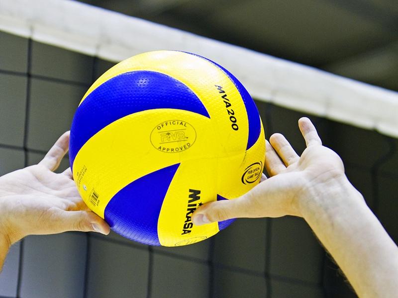 Beach volleybal trainigen