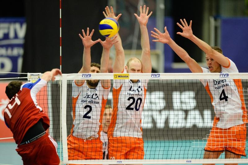 Support de Oranje volleybalmannen naar het EK!
