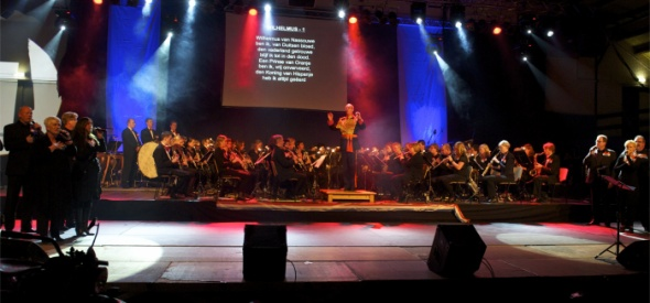 Bevrijdingsconcert Advendo en New Valley Singers
