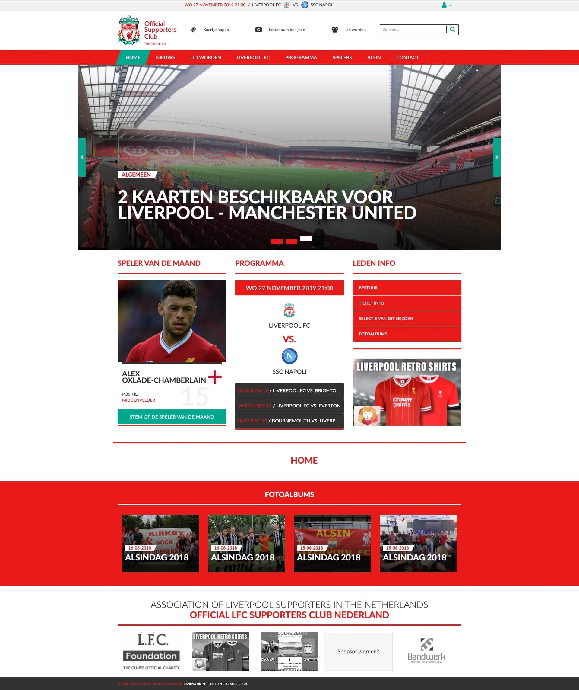 We bouwen graag aan het merk Fanclub Liverpool FC