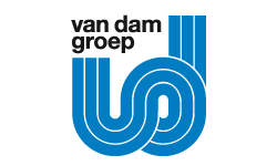 Logo van van Dam Groep