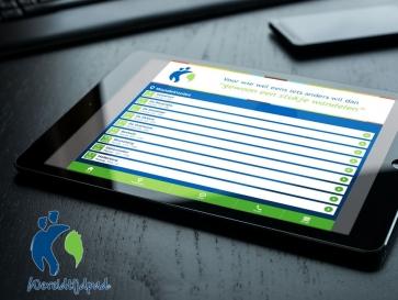 Afbeelding bij Mobiele webapp