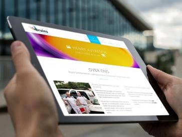 Afbeelding bij Kleurrijke website
