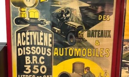 B.R.C. advertising poster