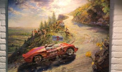 Painting Targa Florio