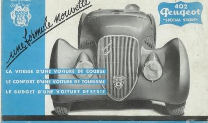 Peugeot 402 Special Sport