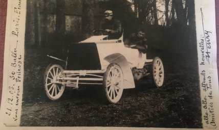 Can anybody help us identify the race where this car was entered in?