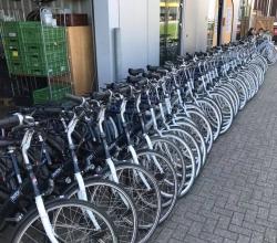 Foto bij Het fiets seizoen is geopend