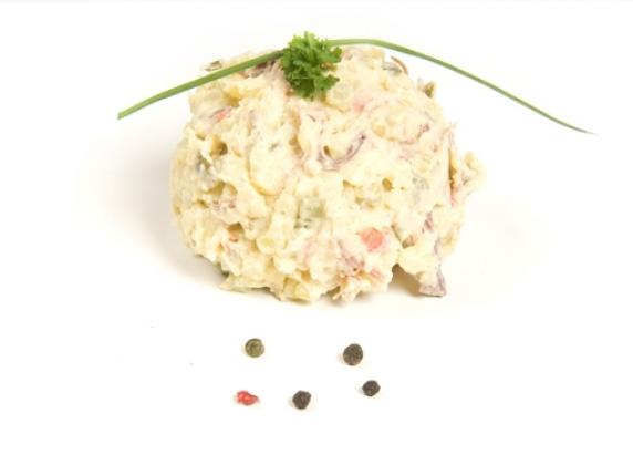 Foto van Twentse vlees salade