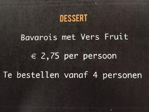 Foto van Dessert