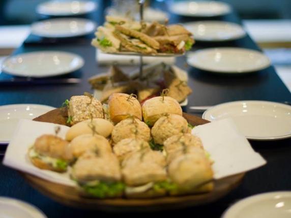 Foto van Lunchpauze