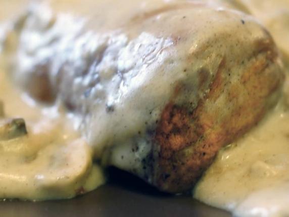Foto van Varkenshaas in champignonsaus