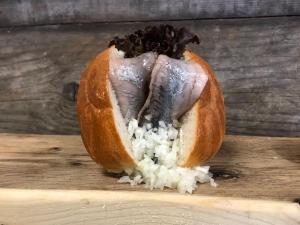 Foto van Hollandse nieuwe haring
