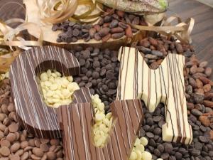 Foto van Chocoladeletter A t/m Z 200 gram