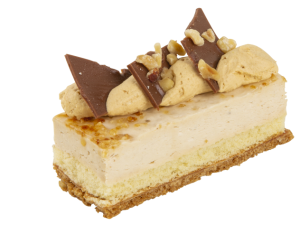 Foto van  Hazelnoot bavaroise gebakje