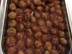 Foto van Gehaktballetjes in saus (6 stuks)