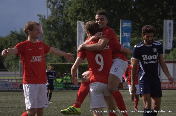 Excelsior'31 in tweede helft verdiend voorbij Sparta Nijkerk (2-0)