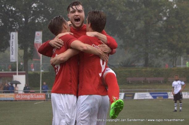 Sterk Excelsior'31 wint van Berkum en neemt koppositie over (3-1)