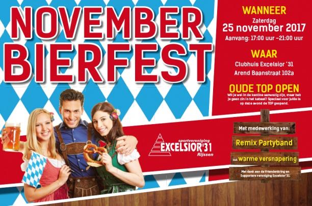 ''November Bierfest'' uitgesteld ivm overlijden Dik Wessels