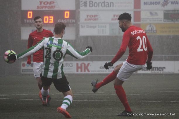 SC Genemuiden brengt Excelsior'31 eerste thuisnederlaag van het seizoen toe (1-3)