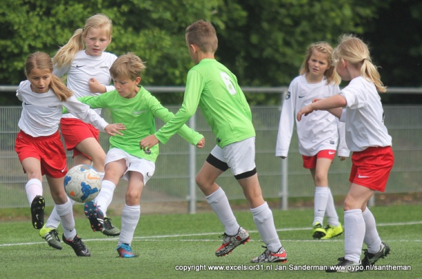 Schema trainingen mini's in De Reggehal