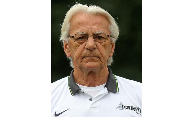 Verzorger van Excelsior'31 2 Hennie In't Hof (senior) overleden