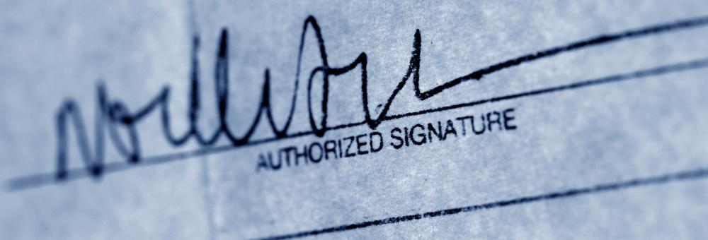 Vervalste handtekening? Echtheid handtekening laten onderzoek?