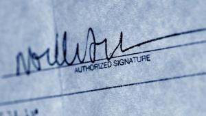 Vermoedt u dat uw handtekening is vervalst?