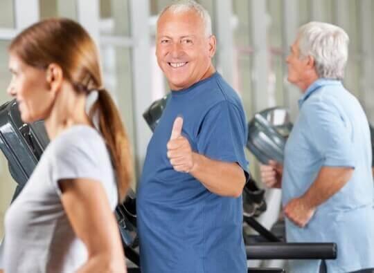 Foto bij Fysiotherapie bij COPD (longrevalidatie)