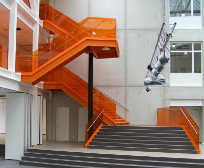 Afbeelding bij Glashekken trap