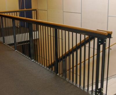 Afbeelding bij Spijlenhekken trap