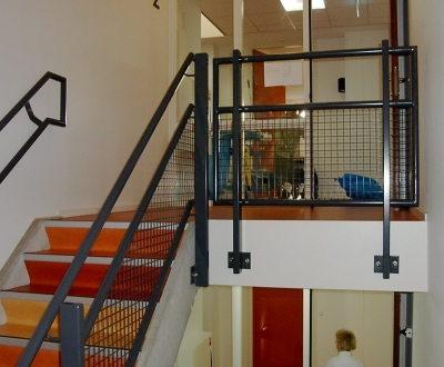 Afbeelding bij Gaashekken trap