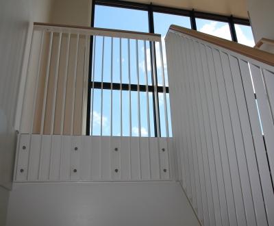 Afbeelding bij Lamellenhekken trap