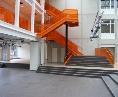 Foto bij Hogeschool en sporthal CSG Het Streek